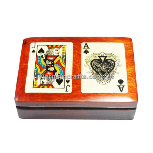 Double Deck Playing Cards Box Ace and Jack of Clubs (2)