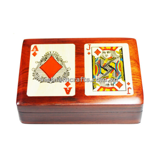 Double Deck Playing Cards Box Ace and Jack of Diamonds (1)