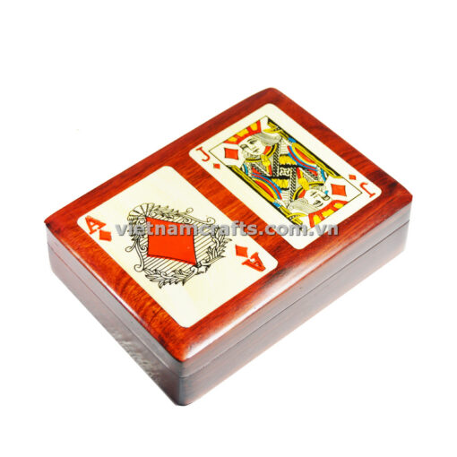 Double Deck Playing Cards Box Ace and Jack of Diamonds (2)