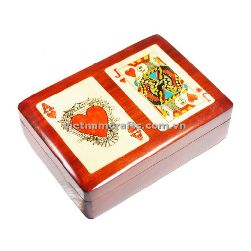 Double Deck Playing Cards Box Ace and Jack of Hearts (2)