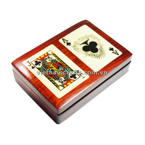 Double Deck Playing Cards Box Ace and Jack of Spades (1)