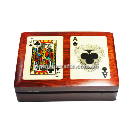 Double Deck Playing Cards Box Ace and Jack of Spades (3)