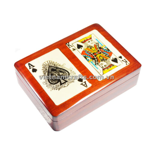Double Deck Playing Cards Box Ace and King of Clubs (1)