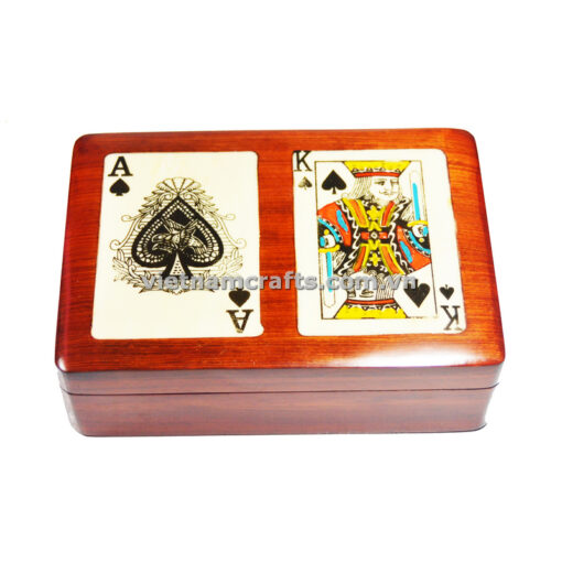 Double Deck Playing Cards Box Ace and King of Clubs (3)