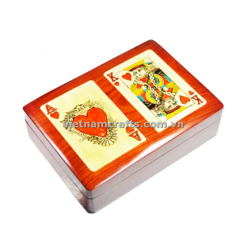 Double Deck Playing Cards Box Ace and King of Hearts (2)