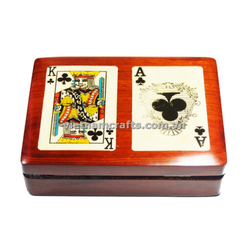 Double Deck Playing Cards Box Ace and King of Spades (1)