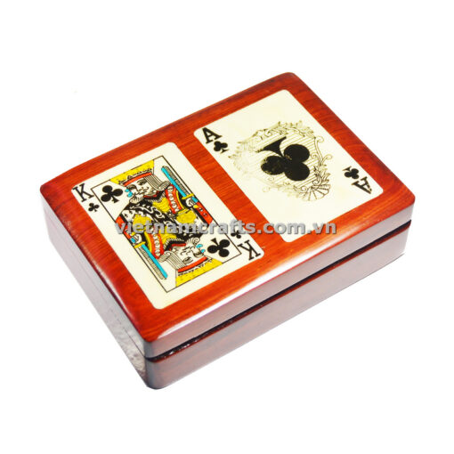 Double Deck Playing Cards Box Ace and King of Spades (2)