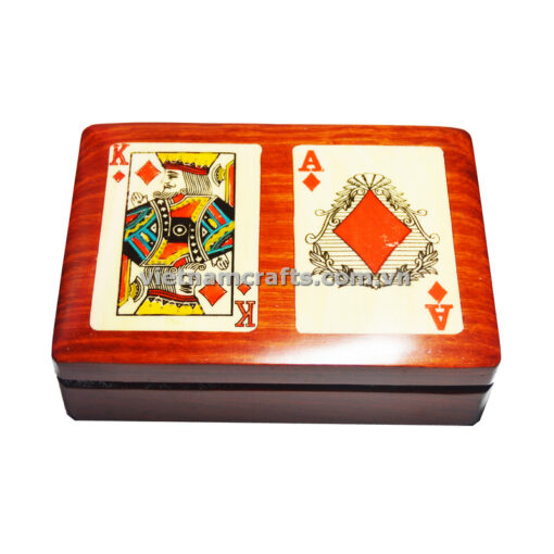 Double Deck Playing Cards Box King and Ace of Diamond (2)