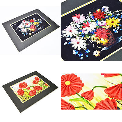 Quilling Paintings