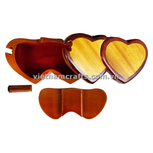 double heart wood puzzle box (2)