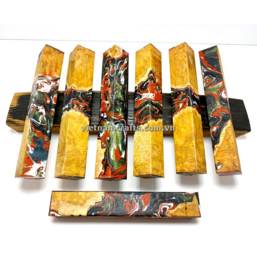 Wholesale Wood Resin Pen Blank Jewelry (2)