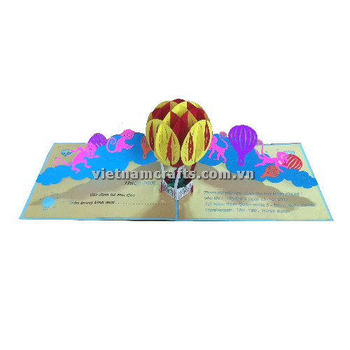 CU01 Buy Custom 3d Pop Up Greeting Cards Congratulations day 3d Foldable Personalized Wedding Pop Up Card (2)