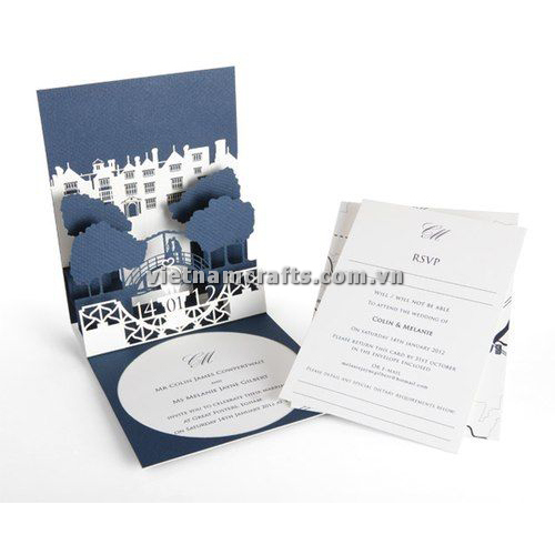CU18 Buy Custom 3d Pop Up Greeting Cards Congratulations day 3d Foldable Personalized Wedding Pop Up Card