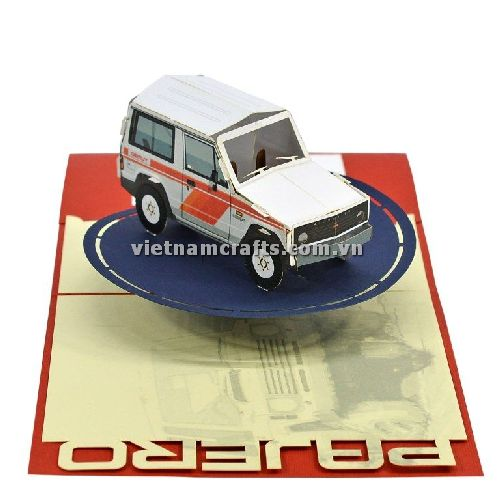 CU21 Buy Custom 3d Pop Up Greeting Cards Congratulations day 3d Foldable Personalized Showroom Opening Pop Up Card Car