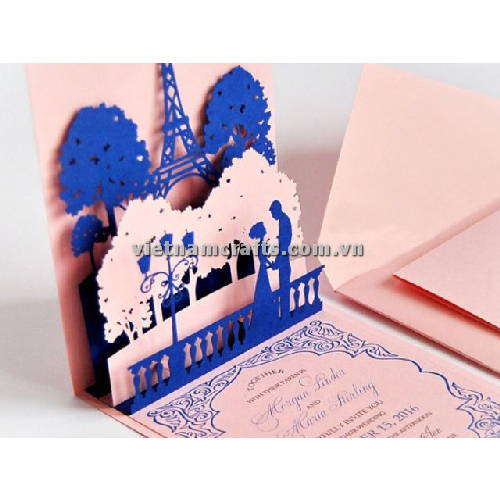 CU27 Buy Custom 3d Pop Up Greeting Cards Congratulations day 3d Foldable Personalized Wedding Pop Up Card