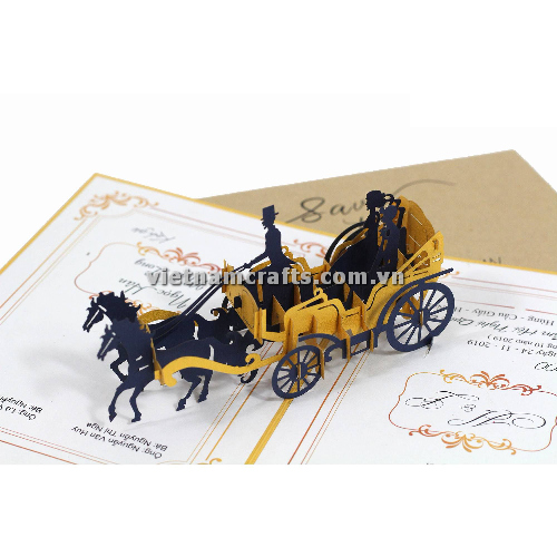 CU33 Buy Custom 3d Pop Up Greeting Cards Congratulations day 3d Foldable Personalized Wedding Pop Up Card (1)