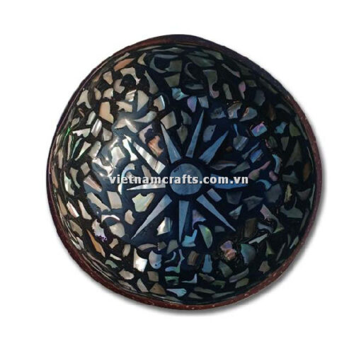 CCB95 A Wholesale Eco Friendly Coconut Shell Lacquer Bowls Natural Serving Bowl Coconut Shell Supplier Vietnam Manufacture (1)