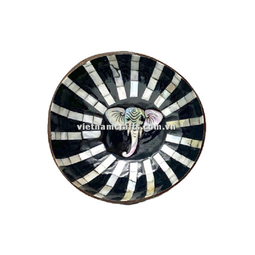 CCB95 A Wholesale Eco Friendly Coconut Shell Lacquer Bowls Natural Serving Bowl Coconut Shell Supplier Vietnam Manufacture (11)