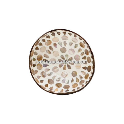 CCB95 A Wholesale Eco Friendly Coconut Shell Lacquer Bowls Natural Serving Bowl Coconut Shell Supplier Vietnam Manufacture (13)