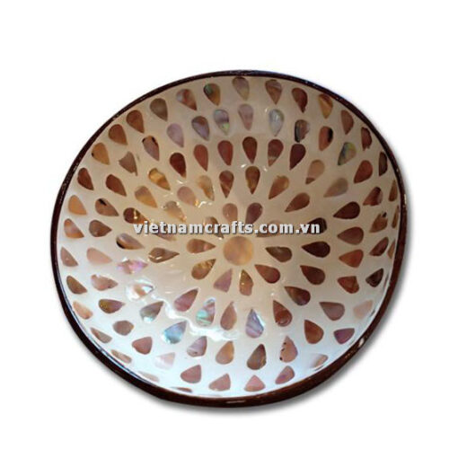 CCB95 A Wholesale Eco Friendly Coconut Shell Lacquer Bowls Natural Serving Bowl Coconut Shell Supplier Vietnam Manufacture (17)