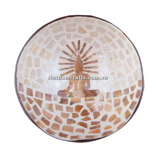 CCB95 A Wholesale Eco Friendly Coconut Shell Lacquer Bowls Natural Serving Bowl Coconut Shell Supplier Vietnam Manufacture (2)