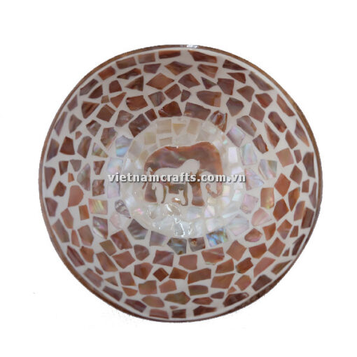 CCB95 A Wholesale Eco Friendly Coconut Shell Lacquer Bowls Natural Serving Bowl Coconut Shell Supplier Vietnam Manufacture (3)